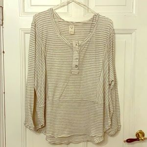 Free People Stripped Long Sleeve